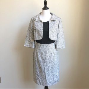 NWOT Kay Unger Jacket & Dress Set 8